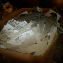 Цена отходов картона с печатью
